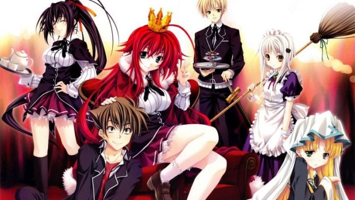 highschool dxd volume 12
