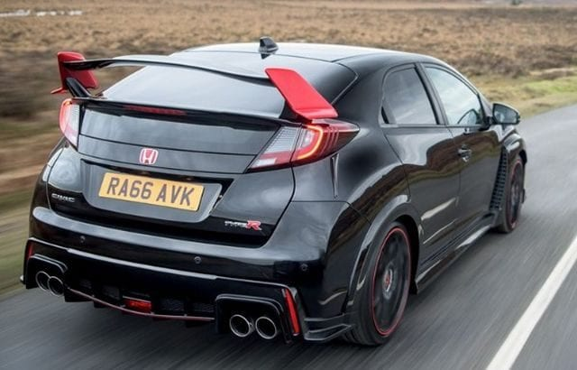New Civic Type R Black Edition 640x410