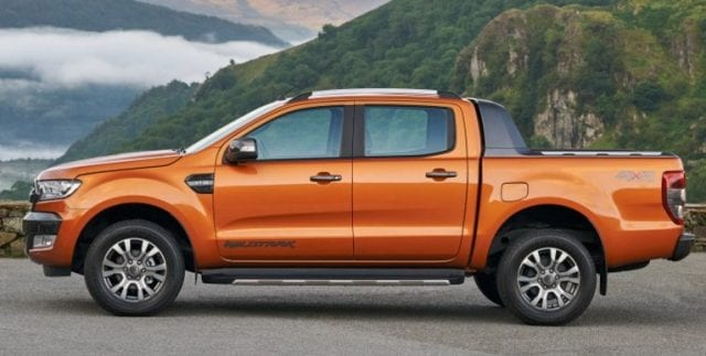 New Ford Ranger 640x323