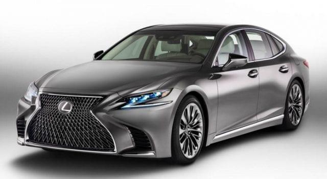 New Lexus LS 2018 640x350
