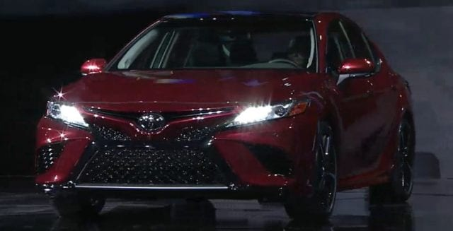New Toyota Camry 2018 640x327