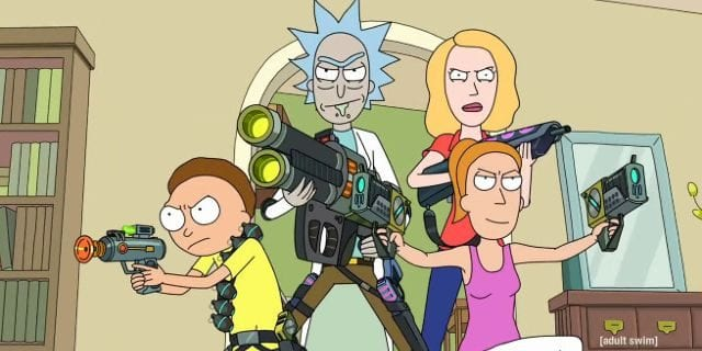 Season 3 of Rick and Morty 640x320