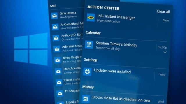 how to use windows 10 action center 640x360
