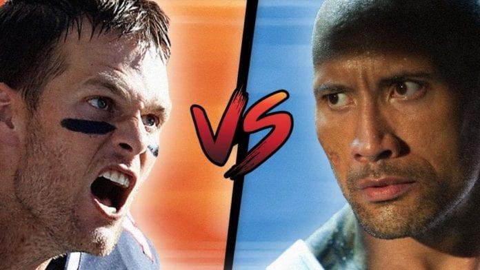 Tom Brady Sends Dwayne Johnson Under Armour Pajamas