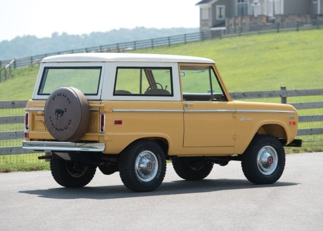 1973 Bronco Rear Right Side