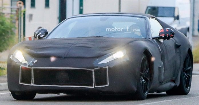 The 800 Hp Ferrari F12 M Which Is Set To Appear In Geneva Is Spied