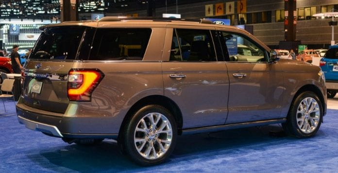 2018 Ford Expedition Finally Unveiled At 2017 Chicago Auto ...