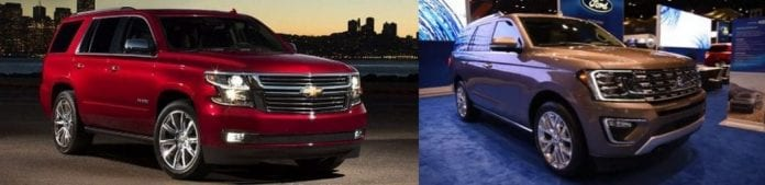 2018 ford expedition vs 2017 chevrolet tahoe which one. Black Bedroom Furniture Sets. Home Design Ideas