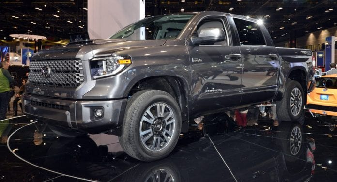 2018 Toyota Tundra and Sequoia Shown in TRD Sport Trims At 2017 Chicago Auto Show