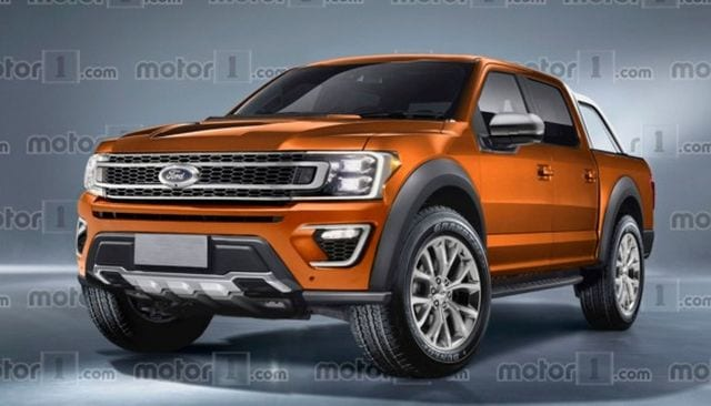 2019 Ford Ranger Will Look Like the F-150