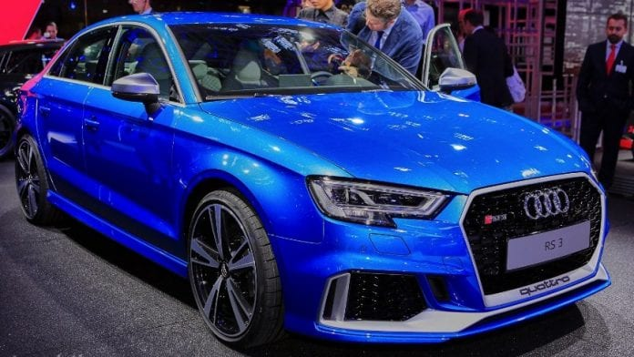2018 audi rs3 sedan will cost around 54 000. Black Bedroom Furniture Sets. Home Design Ideas
