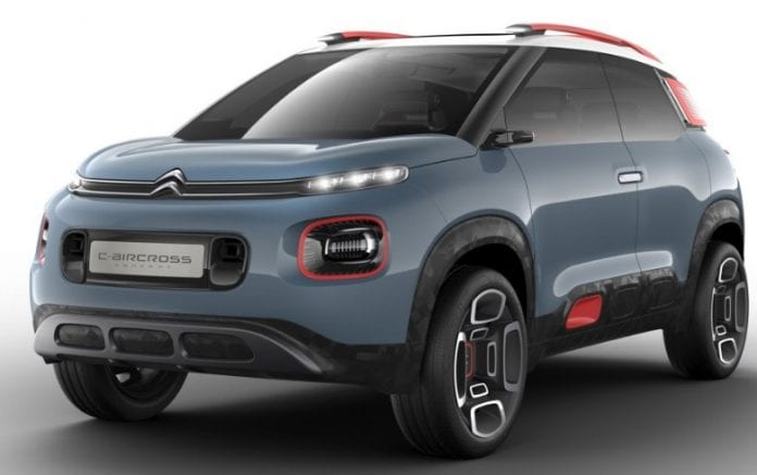 citroen c aircross concept is basically a future c3 picasso. Black Bedroom Furniture Sets. Home Design Ideas