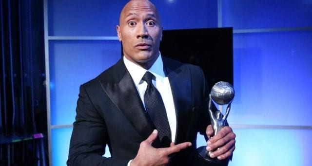 Dwayne Johnson is the Entertainer of the Year