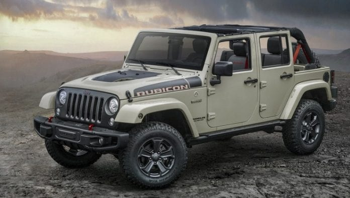 Jeep Adds Wrangler Rubicon Recon Edition to Lineup