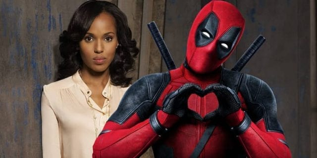 Kerry Washington and Deadpool 640x320