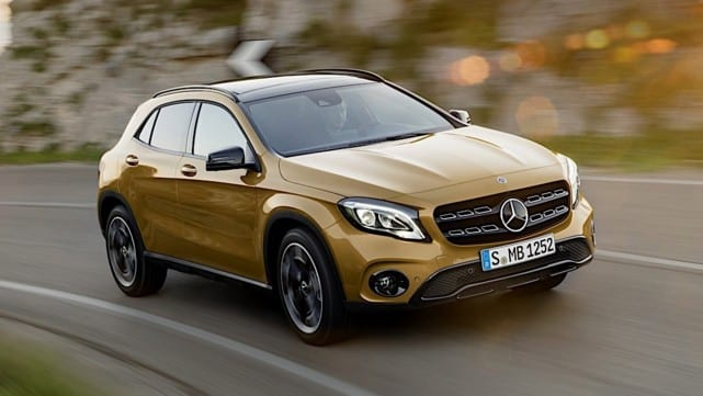 mercedes gla and glb will arrive in 2019. Black Bedroom Furniture Sets. Home Design Ideas
