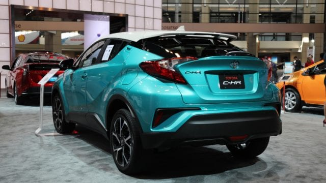 2018 Toyota C Hr Will Look Better With A Contrasting Color
