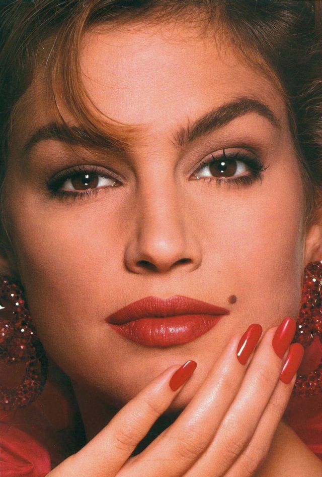 celebrities body parts 08 cindy crawford mole 640x946
