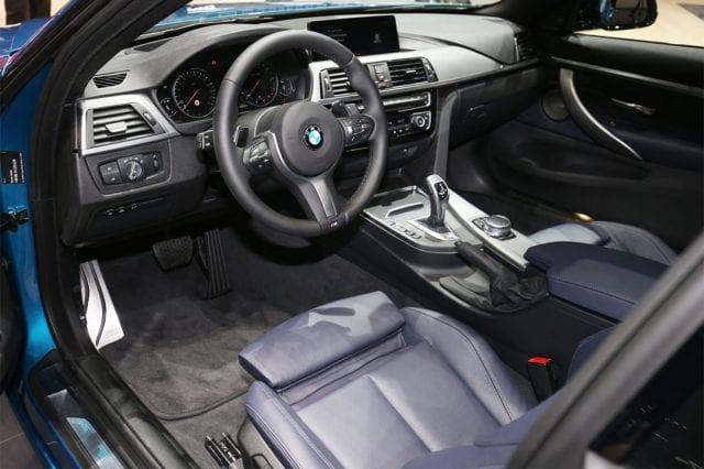 2017 BMW 4 Series interior 640x426