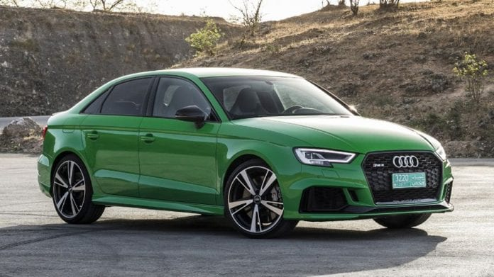 2018 Audi Rs3 Sedan Taking It To The Road For The First Time