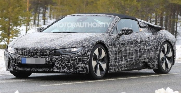 2019 Bmw I8 Spyder Has Been Spied