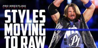 AJ Styles Moving To Raw