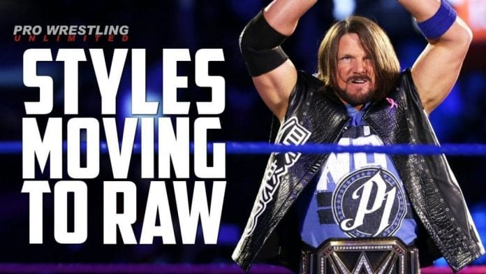 AJ Styles Moving To Raw