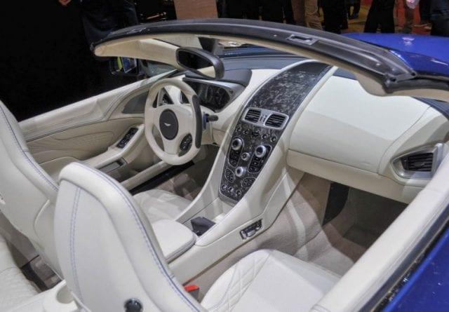 Aston Martin Vanquish S Volante Debuted At Geneva - 2018 aston martin vanquish convertible