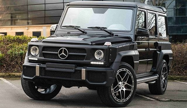 Chelsea Truck Company Showcases Their Mercedes Benz G63 Amg Hammer Edition In Geneva