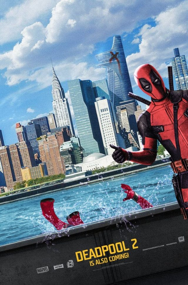 Deadpool Takes Spider Man's Place In Spider Man Homecoming Poster 640x972