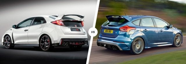 civic type r vs ford focus rs 640x220