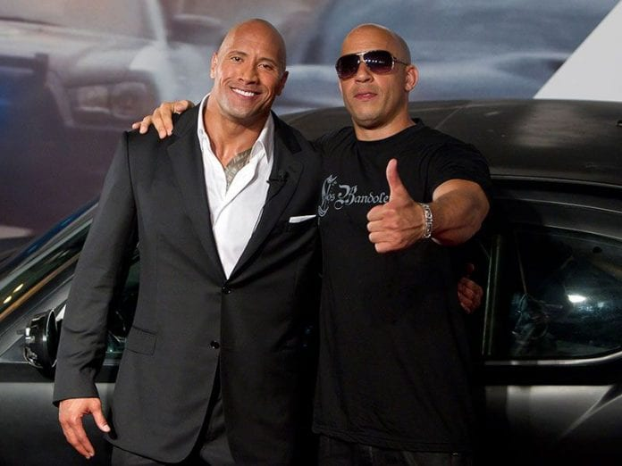 vin diesel vs dwayne johnson who would win in this fight. Black Bedroom Furniture Sets. Home Design Ideas