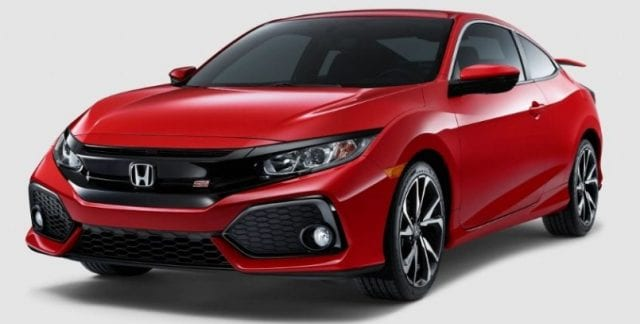 2017 honda civic si and civic si coupe latest update 205 hp for Honda civic si near me