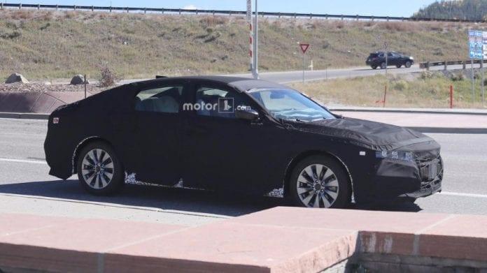 2018 Honda Accord in motion