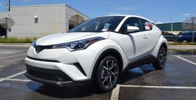 2018 Toyota C-HR Waits Just For You