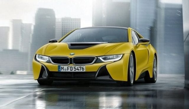 Bmw I8 Protonic Frozen Yellow Edition Looks So Cool