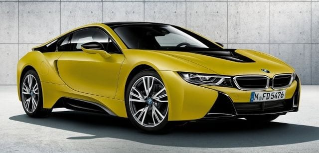 bmw i8 protonic frozen yellow edition looks so cool. Black Bedroom Furniture Sets. Home Design Ideas
