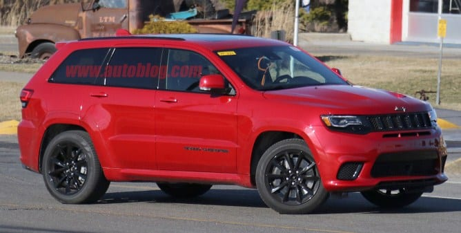 jeep grand cherokee trackhawk will be introduced in new york. Cars Review. Best American Auto & Cars Review