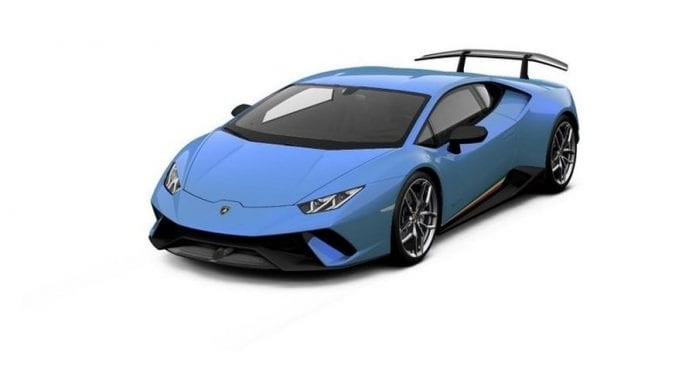 lamborghini huracan performante is available in lots of colors. Black Bedroom Furniture Sets. Home Design Ideas