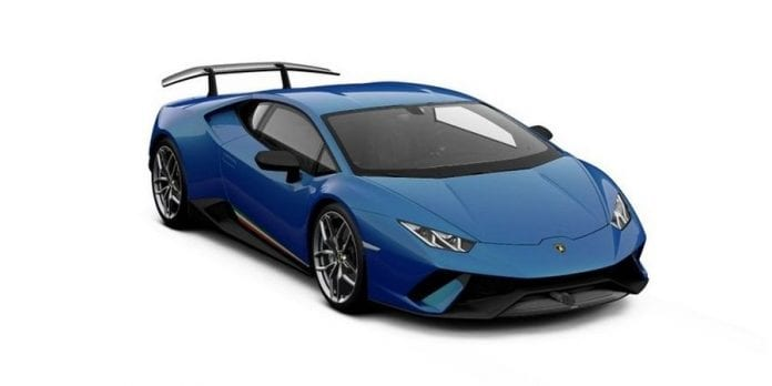 Lamborghini Huracan Performante Is Available In Lots Of Colors