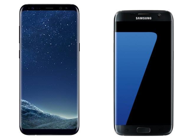 Samsung Galaxy S8 Plus Vs Samsung Galaxy S7 Edge