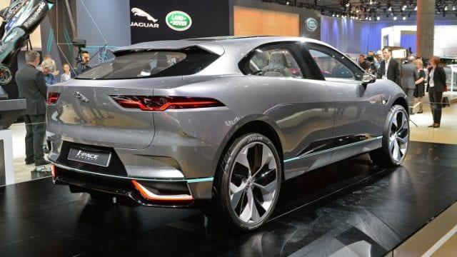jaguar i pace news and updates about jaguar s first electric vehicle. Black Bedroom Furniture Sets. Home Design Ideas