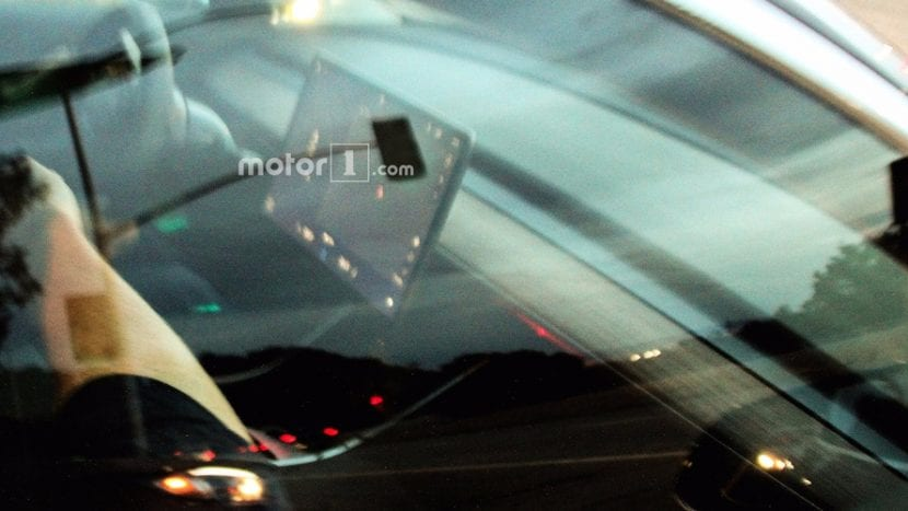tesla model 3 spy photos interior 830x467