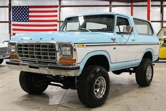 Top 5 Ford Bronco Models From Its 5 Generations
