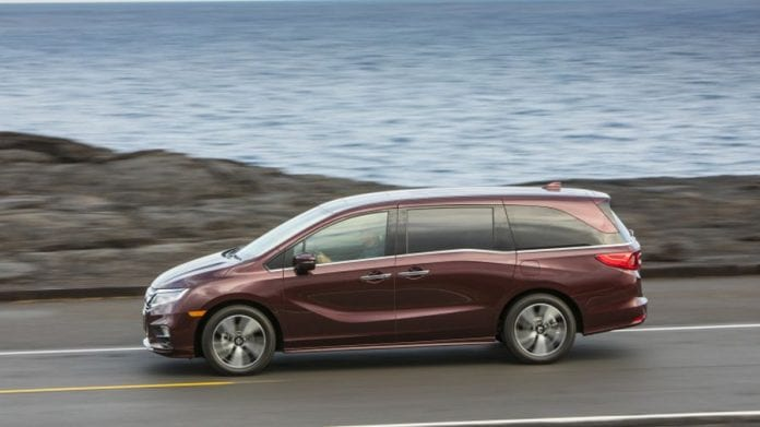 2018 honda odyssey gets power boost and key features. Black Bedroom Furniture Sets. Home Design Ideas