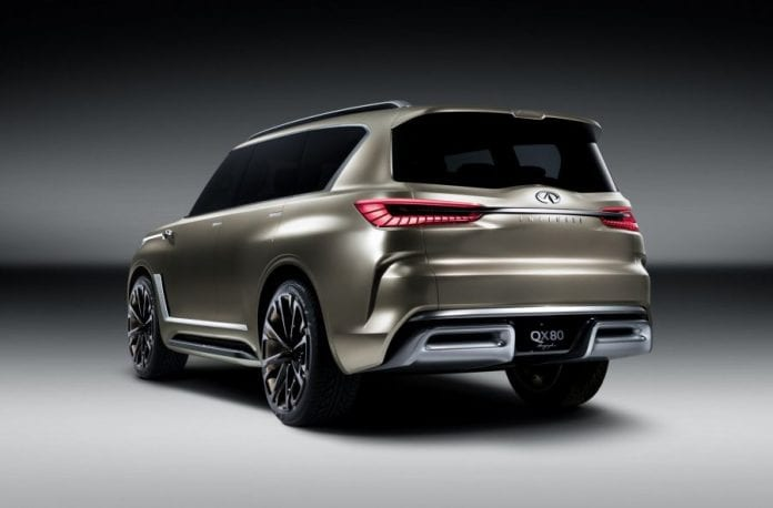 2018 Infiniti QX80 will stick to the same architecture and ...
