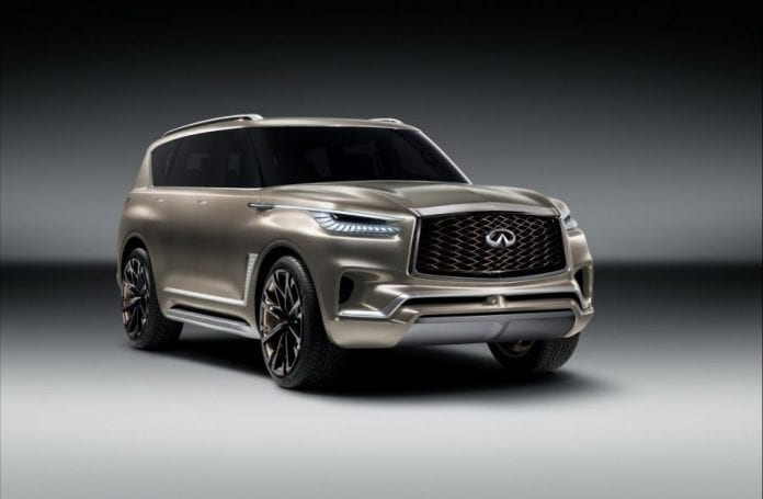2018 infiniti qx80 will stick to the same architecture and powertrain. Black Bedroom Furniture Sets. Home Design Ideas