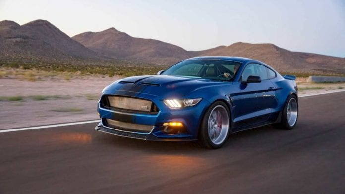 Super Snake 2017 >> Shelby Produced New Ford Mustang Concept