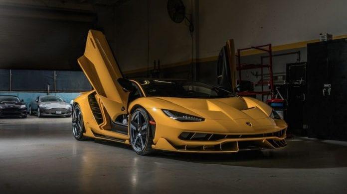 Two Brand New Lamborghini Centenarios Just Landed On The U S Soil