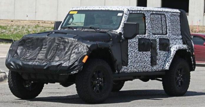 New Jeep Wrangler Spy